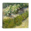 "iCanvas ""Grass and Butterflies"" Canvas Wall Art by Vincent van Gogh"