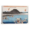 <strong>iCanvasArt</strong> 'Fuchu' by Utagawa Hiroshige Painting Print on Canvas