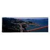 iCanvas Panoramic Golden Gate Bridge San Francisco, California Photographic Print on Canvas
