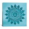 iCanvas 'Deep Meditation Mandala' by Maximilian San Graphic Art on Canvas