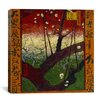 "iCanvas ""Flowering Plum Tree (After Hiroshige)"" Canvas Wall Art by Vincent van Gogh"