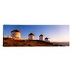 iCanvasArt Panoramic Mykonos, Cyclades Islands, Greece Photographic Print on Canvas