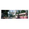 iCanvas Panoramic Main Street Trolley Memphis, Tennessee Photographic Print on Canvas