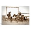iCanvasArt 'Red Top Ranch' by Dan Ballard Photographic Print on Canvas