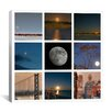"iCanvasArt ""Luna"" Canvas Wall Art by Geoffrey Ansel Agrons"