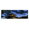 iCanvasArt Panoramic Kinkaku-ji Temple, Kyoto City, Japan Photographic Print on Canvas