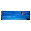 iCanvasArt Panoramic Low Angle View of Hot Air Balloons, Albuquerque, New Mexico Photographic Print on Canvas