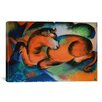 iCanvas 'Red Bull' by Franz Marc Painting Print on Canvas