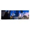 iCanvasArt Panoramic Columbus Circle, New York City, Manhattan Photographic Print on Canvas