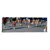 iCanvas Panoramic Chicago Marathon, Chicago, Illinois Photographic Print on Canvas