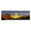 <strong>iCanvasArt</strong> Panoramic Capitol Building, Washington, D.C Photographic Print on Canvas