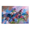 iCanvas 'Polo' by Richard Wallich Painting Print on Canvas