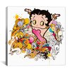 iCanvas Pop Betty Boop Canvas Wall Art