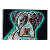 iCanvas 'Love Thy Boxer' by Dean Russo Graphic Art on Canvas