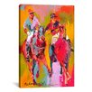 <strong>iCanvasArt</strong> 'Polo' by Richard Wallich Painting Print on Canvas