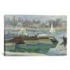 <strong>iCanvasArt</strong> 'Peniches a Asnieres 1873' by Claude Monet Painting Print on Canvas