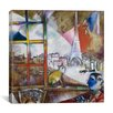 "iCanvas ""Paris Through the Window, 1913"" Canvas Wall Art by Marc Chagall"