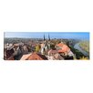 <strong>iCanvasArt</strong> Panoramic Old Town Viewed from Blue Tower, Baden-Wurttemberg, Germany Photographic Print on Canvas