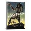 iCanvasArt Nosferatu (Movie) Vintage Advertisement on Canvas