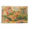 iCanvas 'Paysage 1919' by Pierre-Auguste Renoir Painting Print on Canvas