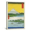 iCanvasArt 'Mt. Fuji lll' by Utagawa Hiroshige l Painting Print on Canvas