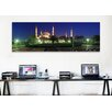 iCanvas Panoramic Mosque Lit up at Night Blue Mosque, Istanbul, Turkey Photographic Print on Canvas