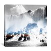 iCanvasArt Niagra Falls, Canada 2 Photographic Print on Canvas