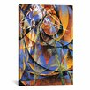 iCanvasArt 'Planet Mercury passing in front of the Sun' by Giacomo Balla Painting Print on Canvas