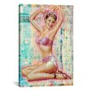 "iCanvasArt ""Pin-Up #1"" by Luz Graphics Graphic Art on Canvas"
