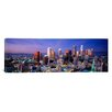 iCanvas Panoramic 'Night, Skyline, Cityscape, Los Angeles, California' Photographic Print on Canvas