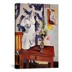 iCanvas 'Plaster Torso and Bouquet of Flowers' by Henri Matisse Painting Print on Canvas