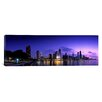 iCanvas Panoramic Night Skyline Chicago, Illinois Photographic Print on Canvas