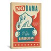 iCanvas 'No Bama' by Anderson Design Group Graphic Art on Canvas