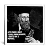 iCanvasArt Nostradamus Quote Canvas Wall Art