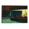 iCanvas 'Nighthawks, 1942' by Edward Hopper Painting Print on Canvas