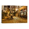 "iCanvasArt ""Night Mood"" by Sebastien Lory Painting Print on Canvas"