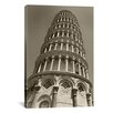 <strong>'Pisa Tower II' by Chris Bliss Photographic Print on Canvas</strong> by iCanvasArt
