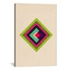 iCanvasArt Modern Art Mid Century Modern Diamond Color Composition (after Kandinsky) Graphic Art on Canvas