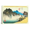 iCanvas 'Sakanoshita' by Utagawa Hiroshige l Painting Print on Canvas