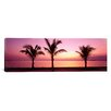 <strong>iCanvasArt</strong> Panoramic Miami Beach, Florida Photographic Print on Canvas