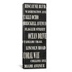 iCanvas Typography 'Miami Streets from Willow Way Studios, Inc' Textual Art on Canvas