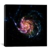 iCanvas Pinwheel Galaxy M101 (Spitzer Space Observatory) Canvas Wall Art