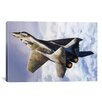 iCanvas Photography Russian Mig 29 Jet Fighter Photographic Print on Canvas
