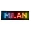 iCanvas 'Milan' by Michael Thompsett Textual Art on Canvas