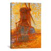 iCanvasArt 'Mill in Sunlight, 1908' by Piet Mondrian Painting Print on Canvas