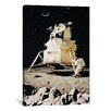iCanvas 'Man on the Moon' by Norman Rockwell Graphic Art on Canvas