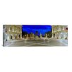 iCanvas Panoramic 'Marcus Aurelius Statue at Piazza Del Campidoglio, Rome, Italy' Photographic Print on Canvas