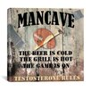 "iCanvas ""Mancave I"" Cancas Wall Art by Mindy Sommers"