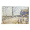 iCanvas 'L'hospice Et Le Phare De Honfleur 1886' by Georges Seurat Painting Print on Canvas
