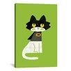 iCanvas 'Mark Batcat' by Budi Satria Kwan Graphic Art on Canvas